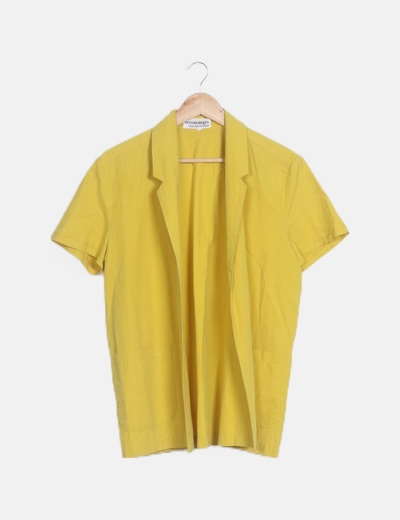 Kimono camisero amarillo