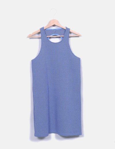 Vestido pichi tricot retro