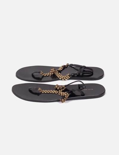 Sandalias planas con cadena dorada Isabel Marant
