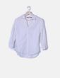 Blusa blanca botones Zara