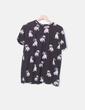 Camiseta print dogs Bershka