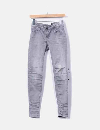 Pantalón gris degradado
