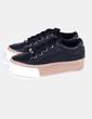 Zapatillas negras con plataforma Juicy Couture