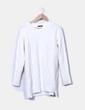 Jersey de punto blanco Zara