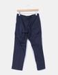 Pantalón azul marino de pinzas Alberta Ferreti
