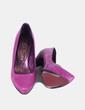 Zapato fucsia texturizado  Mascaró