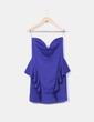 Vestido azul klein sin mangas Zara