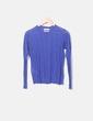 Pull bleu en tricot Mango