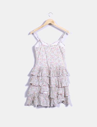 Vestido tiantes con estampado floral