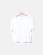 Camiseta blanca mensaje Pimkie