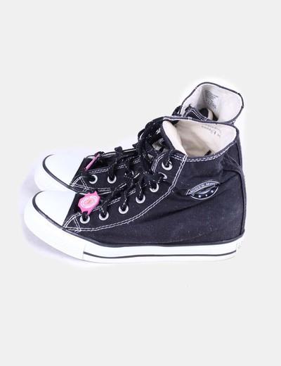 8cc7b4c4b5d25 Skechers Zapatilla negra con cuña interior (descuento 79%) - Micolet