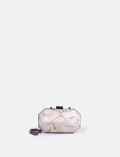 Sac d'embrayage imprimé animal Topshop