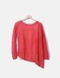 Jersey de punto rojo Zara