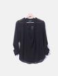 Blusa negra semitransparente Asos