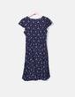Vestido floreado azil marino Ralph Lauren