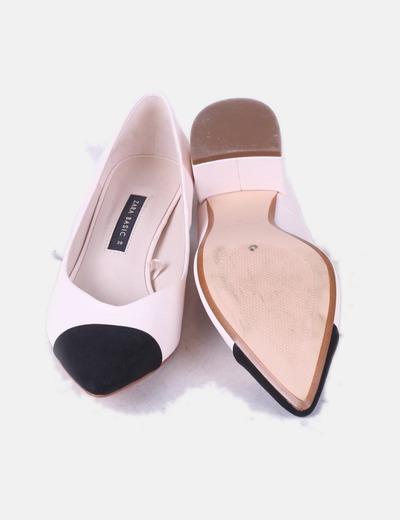 51 Micolet descuento Zara Nude Heels Zapatos Negra Puntera qxwx1zOY6