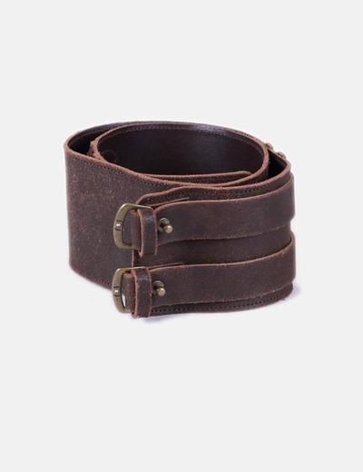 Liu·Jo Cinturón ancho marrón (descuento 79%) - Micolet 379974d23dd5