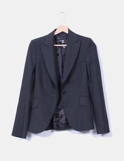 Blazer gris marengo Zara