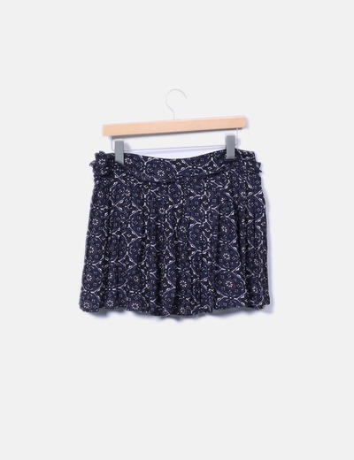 Minifalda floral