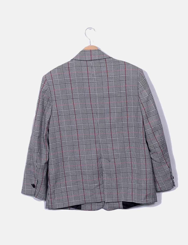 ... y gallo Chaquetas baratos Blazer pata Zara gris de Mujer online de  Abrigos Ygwt1qTRn ec4970f4e128