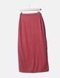 Falda maxi tricot rosa NoName
