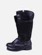 Botas altas negras de doble textura ADN calzados