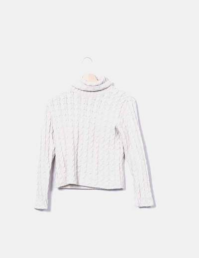 Jersey tricot con ochos Penny pull