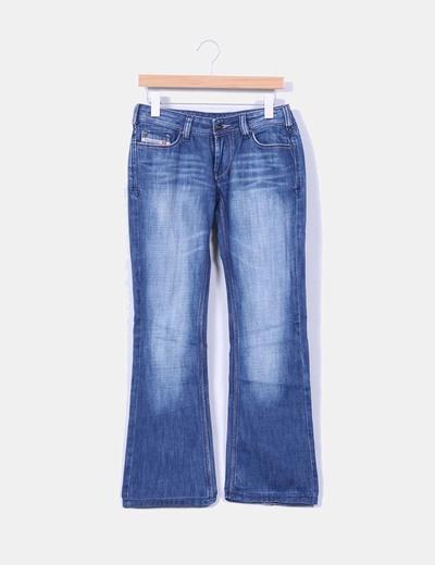 Jeans vaquero acampanado Diesel