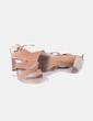 Sandalia de tacón beige KEYS