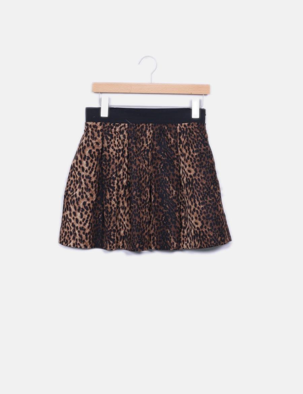 Qixg7wf Online Faldas Print Animal Whoop Zara Baratas Minifalda For ZnYOxzSw