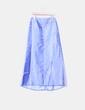 Conjunto de falda y corpiño azul con strass Carfi