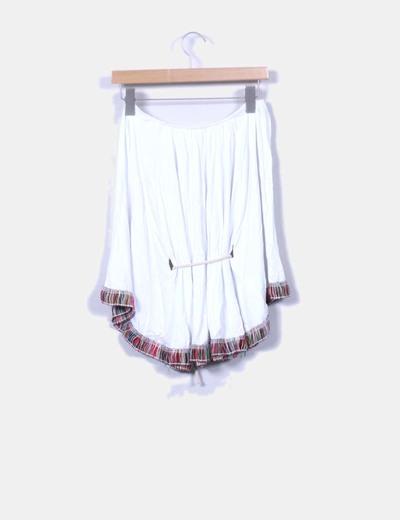 Blusa blanca mexicana