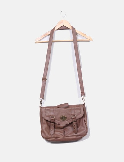Sac marron shopper Suiteblanco