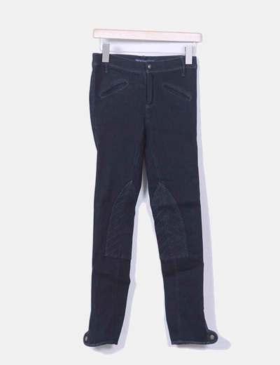 Jeans denim pitillo azul oscuro Ralph Lauren