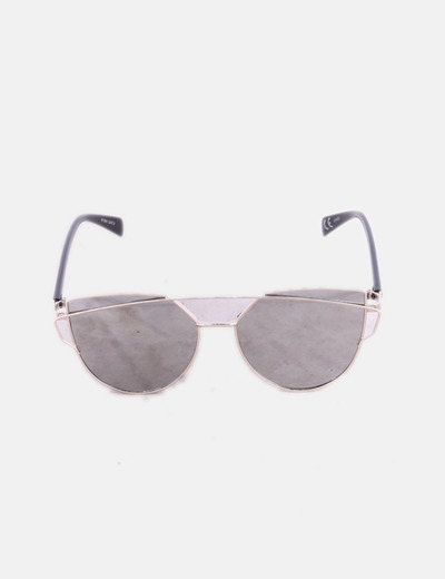Gafas de sol metalizadas cat eye