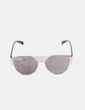 Gafas de sol metalizadas cat eye NoName