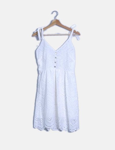 Vestido guipur blanco