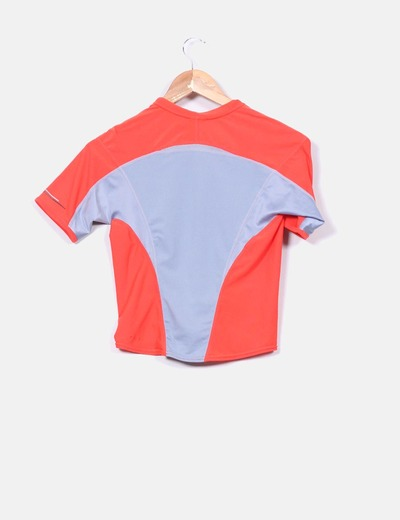 Camiseta deportiva fluor nike