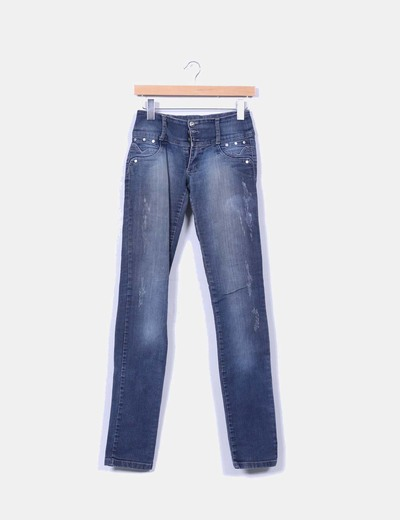 Jeans denim tribal