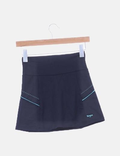 Falda pantalón de lycra