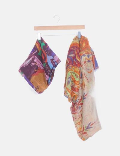 Pack pañuelos estampados
