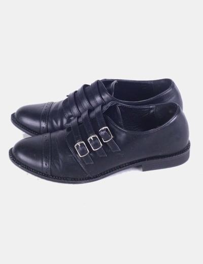 Zapato negros con hebillas Marypaz