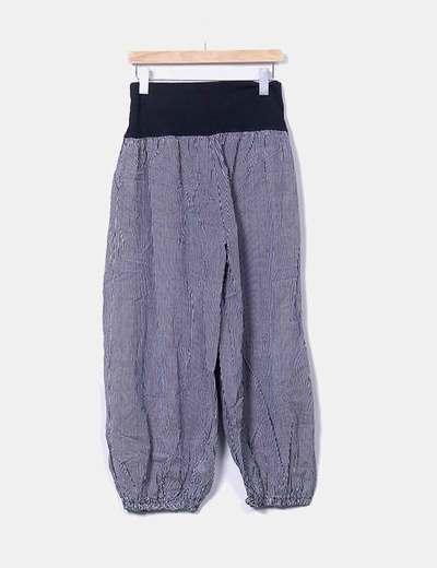 Pantalón baggy rayas