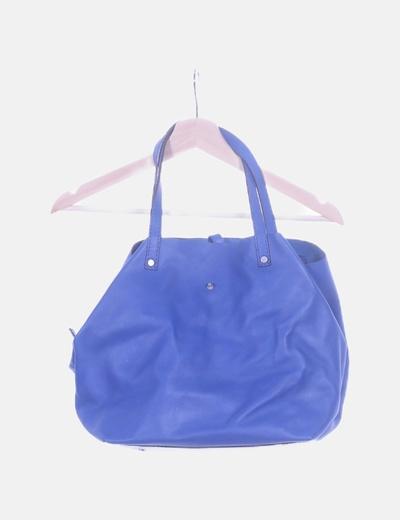 Bolso shopper azul