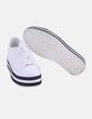Deportivas blancas con plataforma Zara
