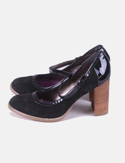 Chaussure à talon noire Killah