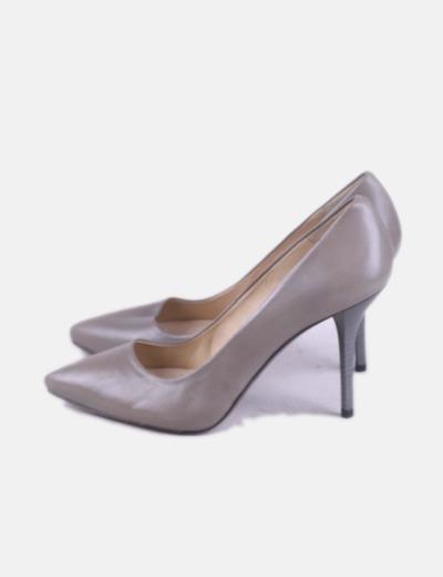 Zapatos salón gris
