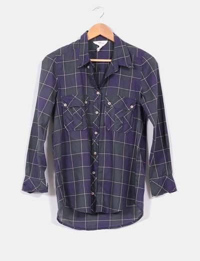 Camisa cuadros verdes Isabel Marant