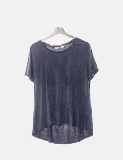 Camiseta fluida azul