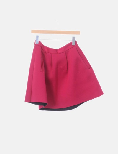 Falda de vuelo con bolsillos